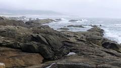 Rocas en el mar (vcastelo) Tags: espaa portugal ro spain playa galicia mio pontevedra rocas guardia 2014 desembocadura camposancos
