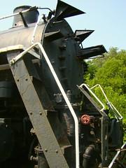 Two Hundred Tons of Junk (Chicago Rail Head) Tags: lima mikado 1963 nickelplateroad steamlocomotive ondisplay 282 u