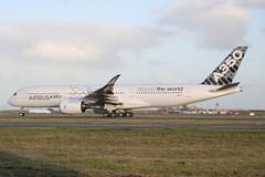 F-WWYB_NZAA_4222 (ZK-NGJ) Tags: fwwyb 06august2014auckland airbusa350941005 airbusindustrietest
