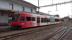 Travys/YStC Trainset type Be2/6 N 2001. (Franky De Witte - Ferroequinologist) Tags: de eisenbahn railway estrada chemin fer spoorwegen ferrocarril ferro ferrovia