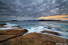 0S1A1473 (Steve Daggar) Tags: sunset seascape landscape umina seascap