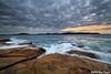 0S1A1473 (Steve Daggar) Tags: sunset seascape landscape umina seascap