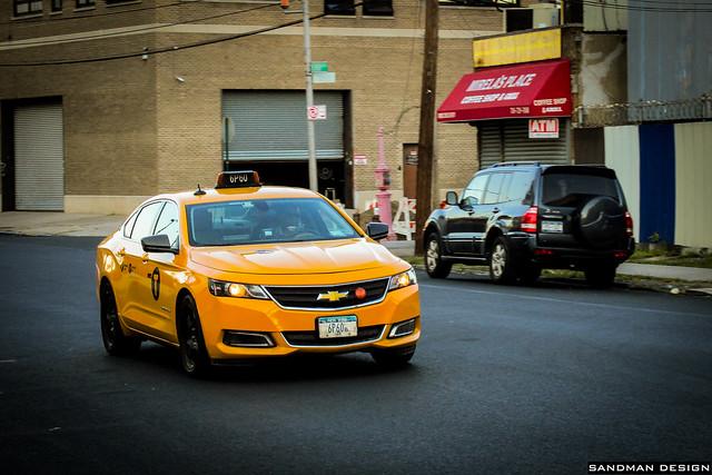 nyc taxi chevy impala 2015