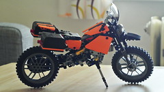 travel enduro motorcycle (hajdekr) Tags: travel lego motorcycles motorbike technic motorcycle enduro