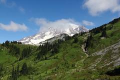 Mount Rainier from 4th Crossing Trail (jlcummins - Washington State) Tags: mountains canon hike mountrainier mountrainiernationalpark washingtonstate