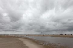 knokke heist - belgium - 1 (hors-saison) Tags: ocean sea beach rain clouds dark day belgium belgique pluie northsea knokke nuages plage heist belge