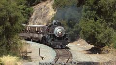 2014 - 2742 In The Canyon.. (Robert Gadsdon) Tags: steam preserved baldwin southernpacific 2014 2472 nilescanyonrailway