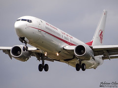 Air Algerie --- Boeing 737-800 --- 7T-VJO (Drinu C) Tags: plane heathrow aircraft sony boeing dsc lhr 737 egll airalgerie 7tvjo hx100v adrianciliaphotography
