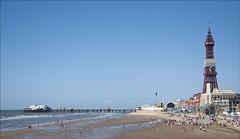 Blackpool - Aug 2014 (terryh1609) Tags: uk sea tower coral fun island seaside sand pirates lancashire promenade paddling funfair blackpool amusements dodgems coralisland