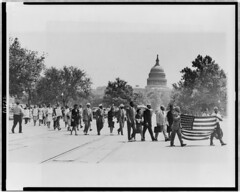 Negro Congress Protests Georgia Lynchings: 1946 (2) (washington_area_spark) Tags: people white house black lynch georgia paul four march women memorial killing african negro protest mob congress national american sing monroe lincoln end murder colored victims crusade association picket 1946 demonstrate lynching naacp advancement robeson nacw nnc
