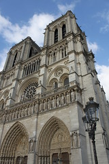 Notre-Dame, facade (volcan642012) Tags: notredame tours cathedrale fronton portail