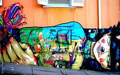 (*paz) Tags: chile colors graffiti mural valparaiso2011