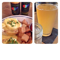 "This is a great way to spend a beautiful Sunday afternoon! This is what My brunch at @thistlepig looks like. This fabulous meal features the best of our locally raised food, small batch local hot sauces, and a delicious Rocky Coast Thistle Pig Saison.  I • <a style=""font-size:0.8em;"" href=""https://www.flickr.com/photos/54958436@N05/15050631479/"" target=""_blank"">View on Flickr</a>"