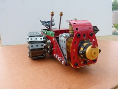 Ransomes MG crawler tractor  14 (Elsie esq.) Tags: model meccano crawler mg2 ransomes
