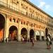 Touristing in Bologna.