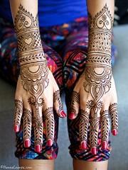Bridal mehndi by www.hennalounge.com (HennaLounge) Tags: sanfrancisco mexico oakland tulum ganesh henna mehndi indianwedding hennaartist indianbride destinationwedding mehndiartist hennacrown