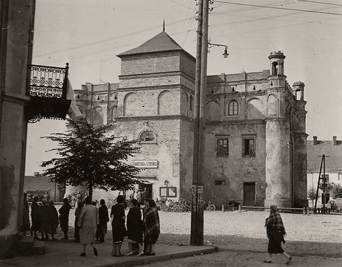 Rynek Wielki, zajęty przez niemieckie wojska, 1939r. (fotopolska.eu)