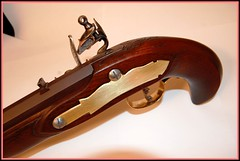 Flintlock Pistol (impala2k8) Tags: lock stock barrel carving pistol kit flintlock gunsmithing sideplate aquafortis flintlockcarving