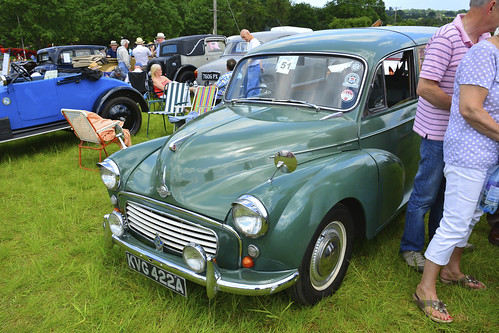 Woolpit Steam Rally, Classic Cars, Morris Traveller 1962