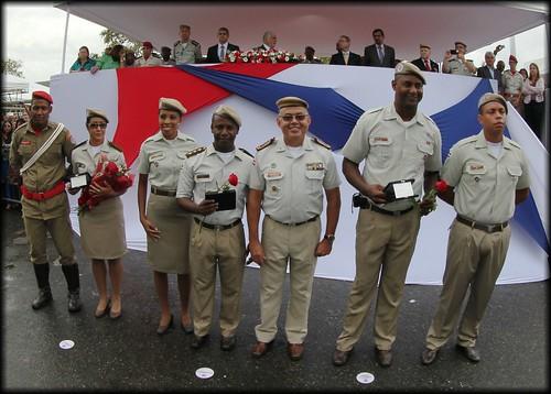 Formatura do curso de formação de soldados da PM e Corpo de Bombeiros