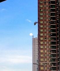 (PingHei) Tags: morning sky building hongkong kowloon westkowloon yaumatei