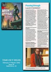 TIME OUT DELHI (designldg) Tags: portrait india interview newdelhi publication indiasong laurentgoldstein timeoutindia