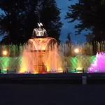 Spectacle de fontaine Saint-Félicien