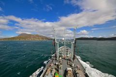 Gulf of Corryvreckan (Ugborough Exile) Tags: uk scotland nikon ships 2014 royalnavy sigma1020mm rfa gret royalfleetauxiliary goldrover a271 d7000