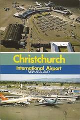 CHC02 (By Air, Land and Sea) Tags: newzealand christchurch airplane airport aircraft postcard airline qantas airnewzealand 747 chc b747 dc10 christchurchinternationalairport