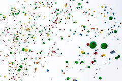 1,000 balloons (Lens Daemmi) Tags: berlin balloons deutschland gho 1000 feier luftballons marienfelde 40jahre gustavheinemannschule