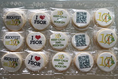 Assorted discuits for Felix School of Rock (The Bespoke Biscuit Co) Tags: biscuit qr qrcode fsor discuit bespokebiscuit