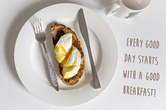 Vegemite and a poached egg on sourdough! - An Aussie Sunday breakfast (Crystal Richardson Photography) Tags: food breakfast perfect yum sunday egg lazy aussie comfort sourdough vegemite poached