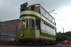 No. 78 at Taylor Street (Mr-NHW) Tags: museum transport tram birkenhead society tramway preservation wallasey wirral merseyside
