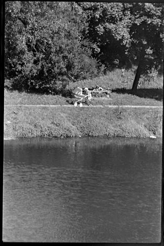 Park Radziwiłowski, lata 80-te, XXw.