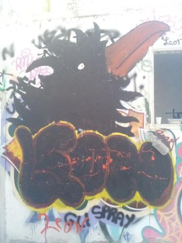 Dans le squat à Bacciano