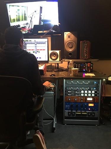 Mike Errico in studio 2017
