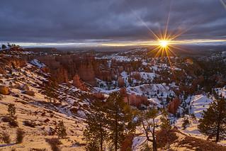 Sunrise at Bryce Canyon, Utah