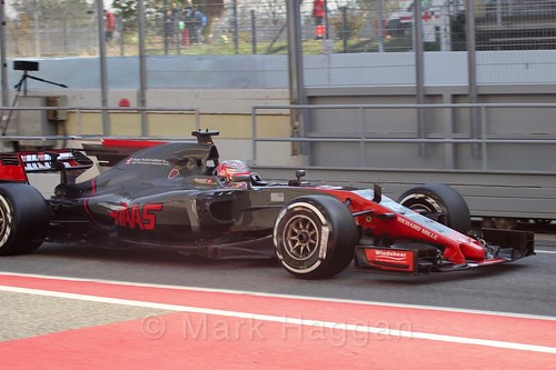 Kevin Magnussen in Formula One Winter Testing 2017