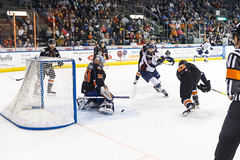 "Missouri Mavericks vs. Tulsa Oilers, March 5, 2017, Silverstein Eye Centers Arena, Independence, Missouri.  Photo: John Howe / Howe Creative Photography • <a style=""font-size:0.8em;"" href=""http://www.flickr.com/photos/134016632@N02/33273245056/"" target=""_blank"">View on Flickr</a>"