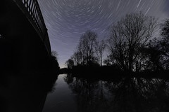 Coventry Canal Brinklow 15th March 2017 (boddle (Steve Hart)) Tags: coventry canal brinklow 15th march 2017 steve hart boddle steven bruce wyke road wyken united kingdon england great britain canon 6d 5d4 24105mm is l usm ef standard 815mm fisheyes lens 1635mm wideangle wide angle testing wild wilds wildlife life nature natural star stars night sky nightsky astronomy trail startrail evening dark twinkle timelapse