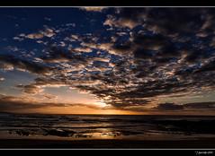 Atardecer en Playa del Sable - Tagle (Pogdorica) Tags: atardecer playa nubes ocaso cantabria tagle playadelsable