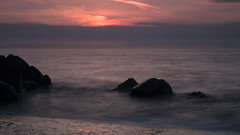 Westward Ho! Long Exposure (Jamie Goldsworthy) Tags: longexposure sunset sea beach water evening seaside rocks exposure expo tide experiment wave devon dev westwardho longexpo