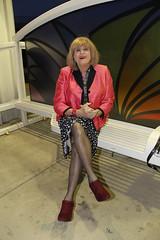 new96204-IMG_6702t (Misscherieamor) Tags: tv boots feminine cd tgirl transgender mature sissy tranny transvestite crossdress ts gurl tg travestis travesti travestie m2f lightrailstation xdresser tgurl slipshowing