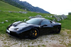 Black 458 Speciale (Raul Savage) Tags: ferrari speciale 458