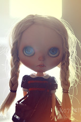 Audrey (k07doll) Tags: bigeyes doll sweet blythe custom mondrian cubby blythedoll bl customblythe blythecustom k07doll