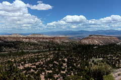 View of the Rio Grande Valle from the Pajarito Plateau (fj40troutbum) Tags: newmexico southwest landscape losalamos