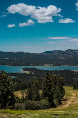 View of Big Bear Lake from the Sky Chair