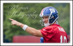 Eli Manning (EASY GOER) Tags: ny game sports canon stars pig football team skin nfl nj meadowlands 7d jersey giants uniforms practice athletes players 56 professionals helmets trainingcamp gridiron 2014 400mm nygiants