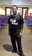 Desmond is cool like that in his Made New tee