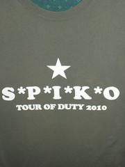 Spikeopaths Summer T-Shirt Archive: 2010 Front